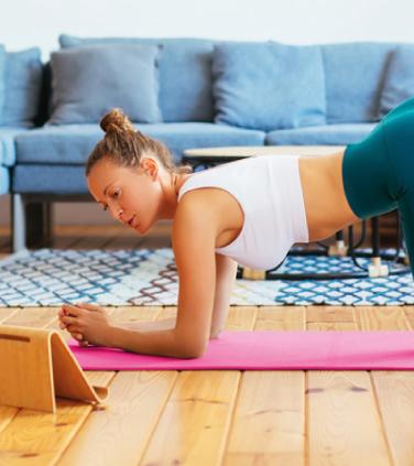 EXPERIÊNCIA EM CASA: Mantenha um equilibrio entre trabalho e exercicio físico.