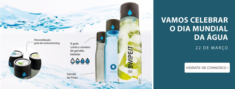 Vamos celebrar o Dia Mundial da Água - Garrafas para todos!