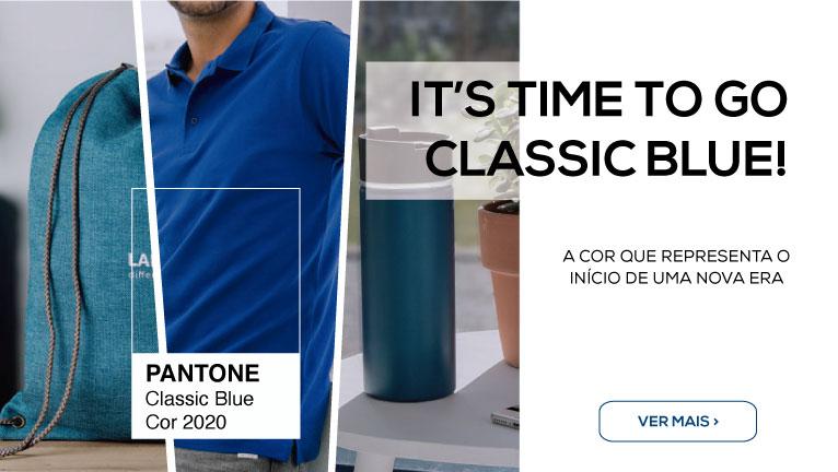 Confiança. Natureza. Estabilidade. O Classic Blue é a cor em que deve apostar!