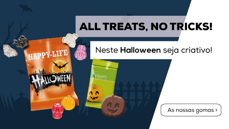All Treats, No Tricks! Neste halloween seja criativo