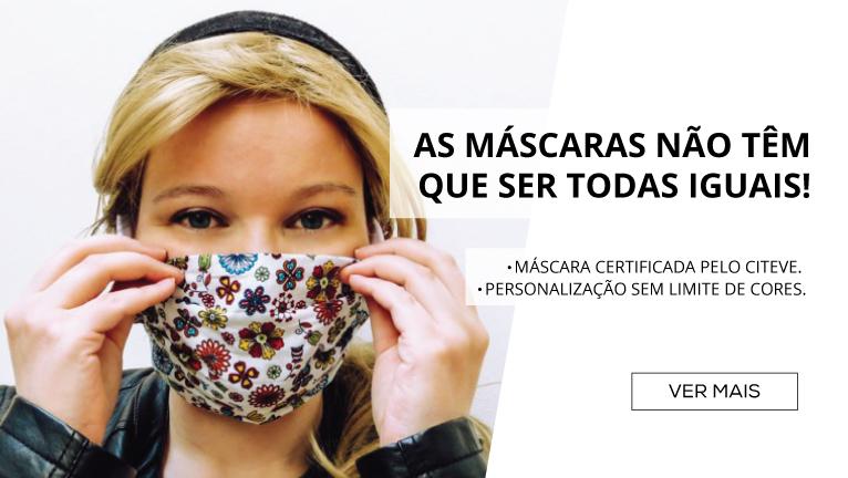 As máscaras não têm que ser todas iguais!