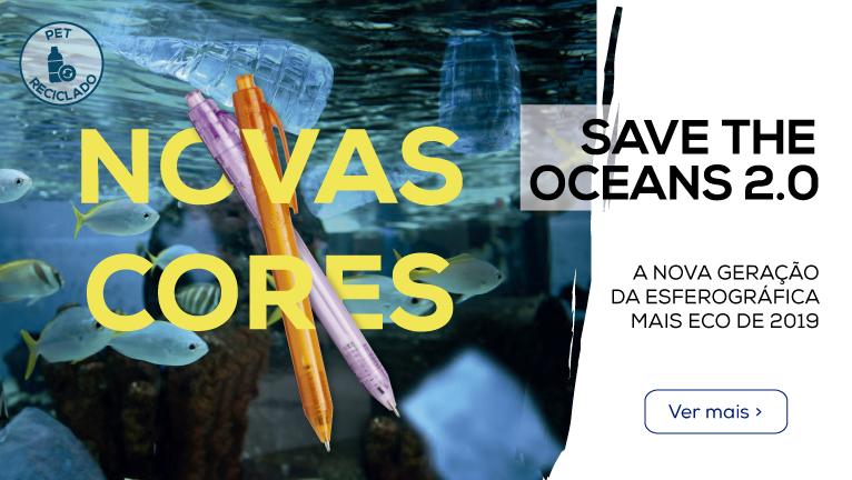 Save the Oceans 2.0: A nova geração da esferográfica mais ECO de 2019