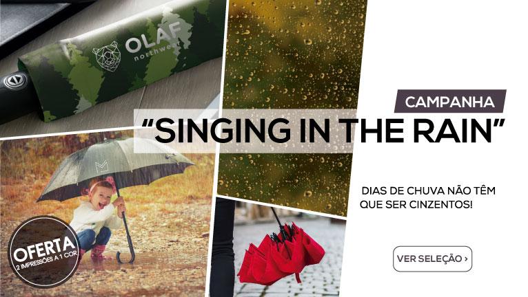 Campanha Singing in the Rain – Dias de chuva não têm que ser cinzentos