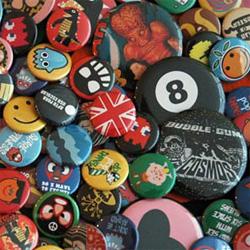 Pins e botões