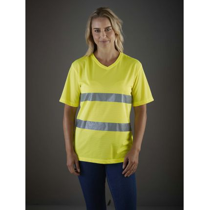 Vestuário refletor de trabalho
